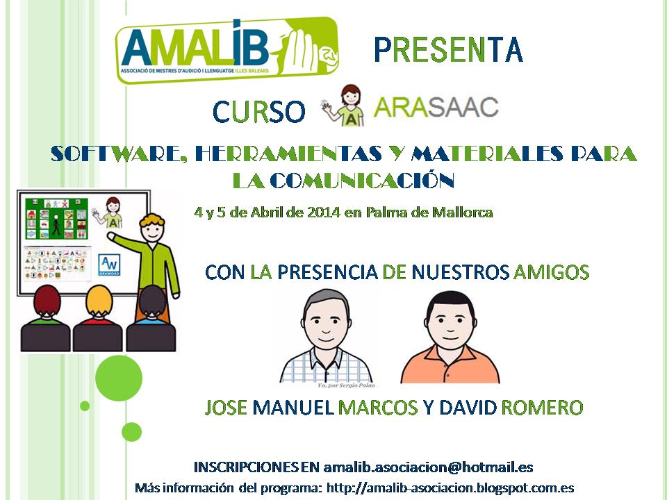 Curso Arasaac Portal Aragonés De La Comunicación Aumentativa Y Alternativa Software Herramientas Y Materiales Para La Comunicación Maestros De Audición Y Lenguaje