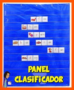 PANEL CLASIFICADOR